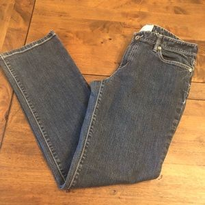 LOFT Straight Leg Jeans